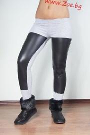 Клин Ioanna сиво+черно 7076